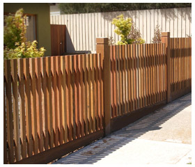 Old Malvern Picket gallery Fence 15
