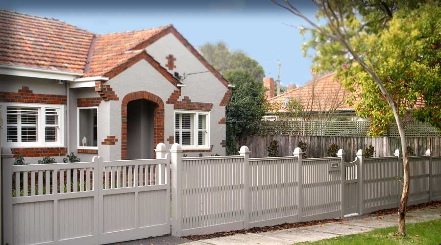 Step fence includes a custom sliding Gate, custom made Posts and Bannister capping