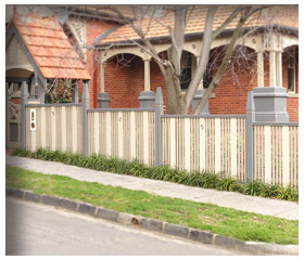 Old Malvern Picket Gallery Fence 14